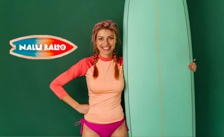 Занятие сёрфингом в клубе Nalu Baloo