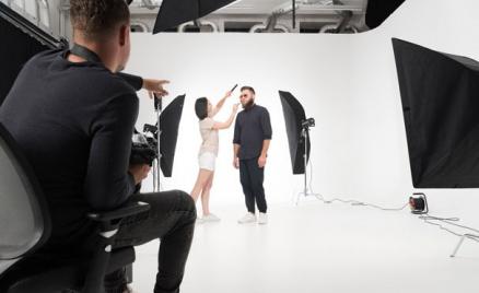 Фотосессия в студии Fashionpalase