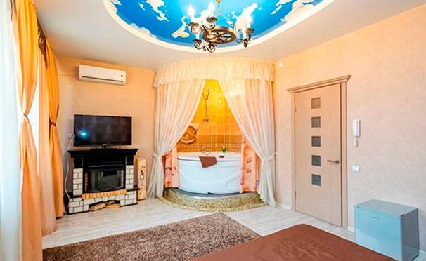 Скидка на От 2 дней проживания в апартаментах для двоих в отеле Gall & Anna в Перми: романтическое оформление номера, завтраки, кондиционер, ИК-сауна, Wi-Fi и не только со скидкой до 52%