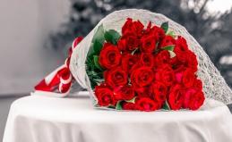 Розы и тюльпаны от Arcus Flowers