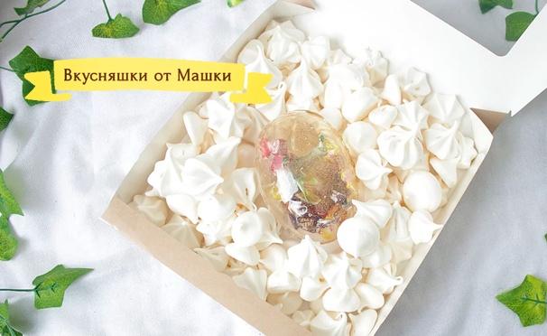 Скидка на Сладости с фотографиями в подарочном наборе от компании «Вкусняшки от Машки». Скидка до 64%