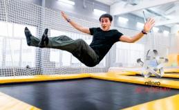 Прыжки на батутах в AllPro Academy