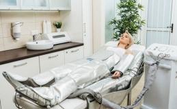 Прессотерапия, криомассаж