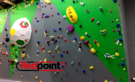 Занятие на скалодроме RedPoint