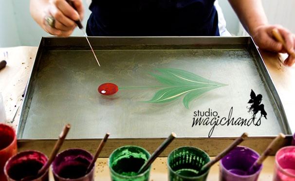 Скидка на Онлайн-курс по рисованию на воде «Эбру» от творческой онлайн-школы MagicHands. Скидка 87%