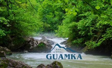 Отель Guamka в Гуамском ущелье