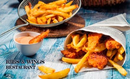 Три ресторана Ribs & Wings