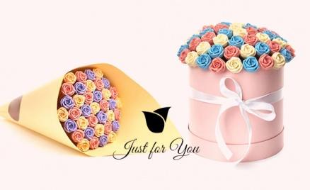 Розы из бельгийского шоколада