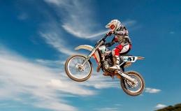 Заезды на кроссовых мотоциклах