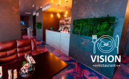 Ресторан Vision в «Москва-Сити»