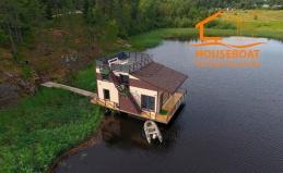 Отдых в доме-лодке в Карелии