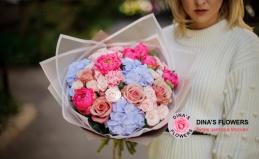 Букеты от бутиков Dina's Flowers