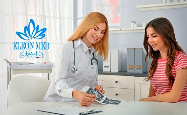 Скидка на Планирование беременности, обследование для женщин у гинеколога-эндокринолога, УЗИ для мужчин и женщин, комплексное обследование на ИППП 12 инфекций в многопрофильной клинике «Элеон Мед». Скидка до 64%