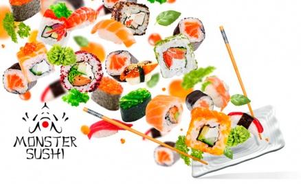 Служба доставки Monster Sushi