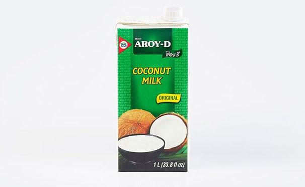Скидка на Кешбэк 50р. от покупки кокосового молока AROY-D (жирность 17–19%, 1 л)