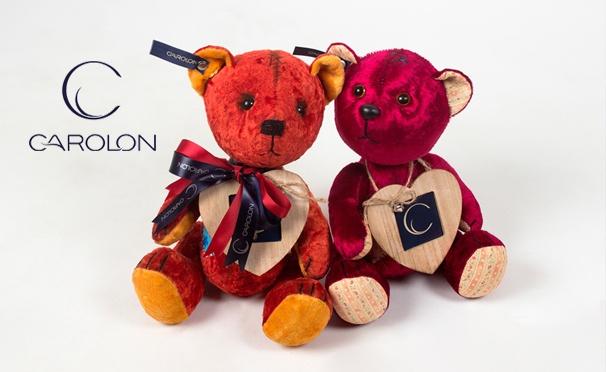 Скидка на Скидка 50% на уникальные игрушки из натурального меха от интернет-магазина Carolon Premium Toys