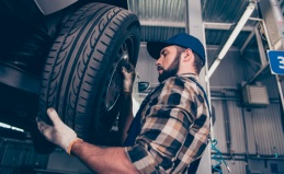 Шиномонтаж, ремонт шин и дисков