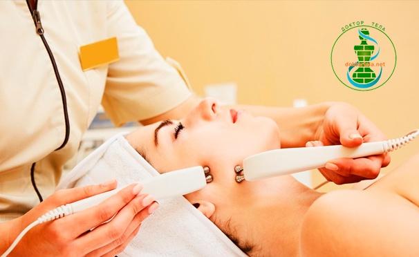 Скидка на Семиступенчатая система омоложения в студии коррекции фигуры и массажа «Доктор тела»: вакуумный гидропилинг, мезотерапия, RF-лифтинг и многое другое! Скидка 54%