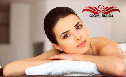 Тайский массаж в Crown Thai Spa