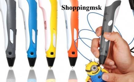 3D-ручка и набор «Рисуем цветом»