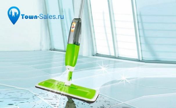 Скидка на Скидка до 56% на швабру с распылителем Rovus Spray Mop, механическую щётку Sweep drag all in one Rotating 360, магнитную щётку для мытья окон Glass Wiper и многое другое от интернет-магазина Town-Sales