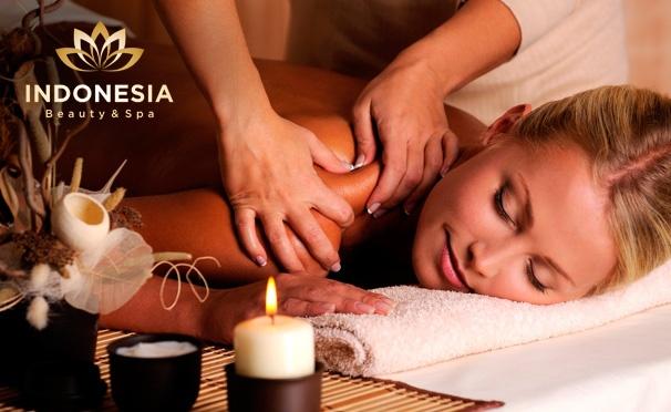 Скидка на Тайский массаж, массажные и spa-программы в spa-центре Indonesia: сауна, массаж, пилинг, скрабирование, бассейн, чайная церемония с сухофруктами. Скидка до 84%