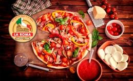 Всё меню в пиццерии La Roma