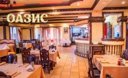 Посещение или банкет в кафе «Оазис»