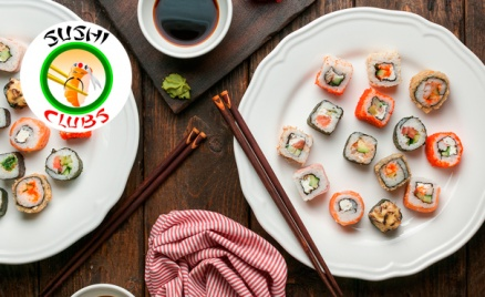 Роллы от ресторана Sushi-Clubs