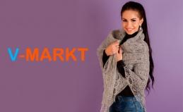 Пуховые платки и паутинки от V-markt