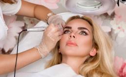 Перманентный макияж век и бровей