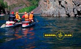 Сплав по реке от клуба «Нормуль»