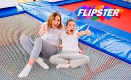 Посещение батутного клуба Flipster