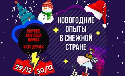 Билеты на научное шоу Деда Мороза