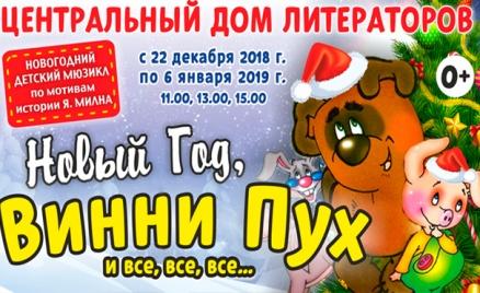 Детский мюзикл с Дедом Морозом