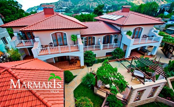 Скидка на Отдых для двоих или троих на вилле «Мармарис» в Крыму со скидкой 50%