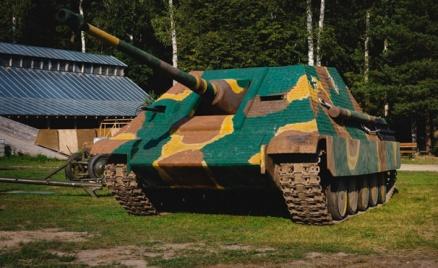 Катание на ПТ-САУ Jagdpanther