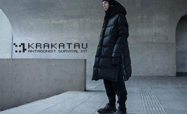 Скидка на Скидка до 50% на всю коллекцию осень-зима в интернет-магазине технологичной одежды KRAKATAU или в розничных магазинах в Москве и Санкт-Петербурге!