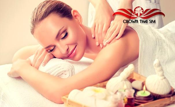 Скидка на Эксклюзивные spa-ритуалы для одного или двоих в салоне тайского массажа Crown Thai Spa на «Щукинской» со скидкой 50%