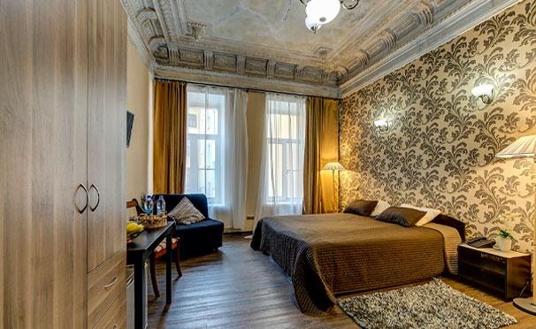 Скидка на Проживание для двоих в отеле «Амбитус» в центре Санкт-Петербурга со скидкой 50%