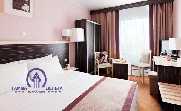 Скидка на Проживание для 1 или 2 человек в гостинице «Измайлово Гамма-Дельта» в Москве. Скидка 30%
