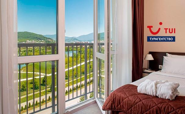 Скидка на Отдых для двоих в апарт-отеле «Бархатные сезоны» на Имеретинском курорте в Сочи от турагентства TUI. Скидка до 53%