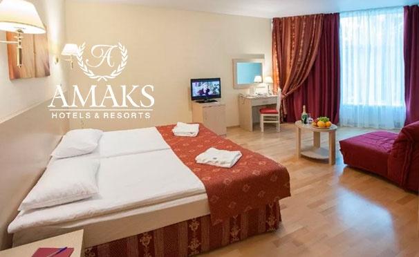 Скидка на От 3 дней проживания для двоих с лечением и 3-разовым питанием в новом загородном курорте-отеле «Красная Пахра» от сети Amaks Hotels & Resorts со скидкой до 40%
