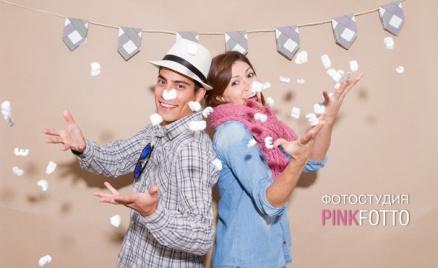 Фотосессия в фотостудии PinkFotto