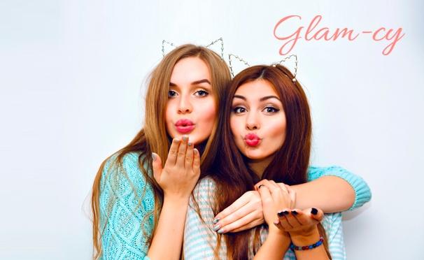 Скидка на Романтическая или семейная фотосессия для одного, двоих или компании в студии Glam-cy дизайнерские костюмы, макияж, прическа, оригинальный реквизит. Скидка 93%
