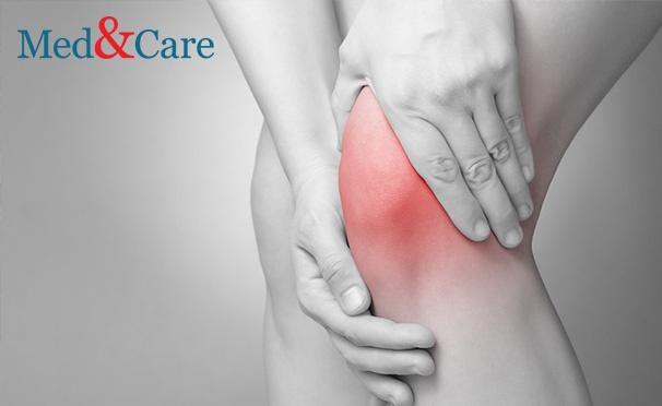 Скидка на Диагностика и лечение боли в суставах и спине в медицинском центре Med & Care: УЗИ, анализы на ревмофактор, С-реактивный белок, сеансы лечения. Скидка до 83%