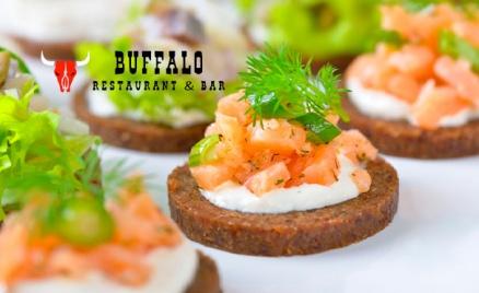 Фуршетные сеты от ресторана Buffalo