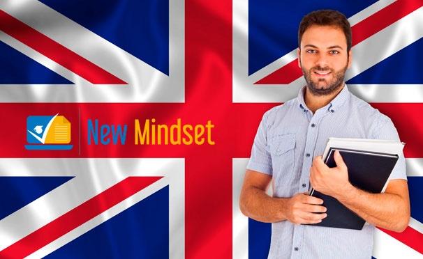Скидка на Онлайн-обучение английского  языка на различных уровнях от международного образовательного центра New Mindset. Скидка до 94%