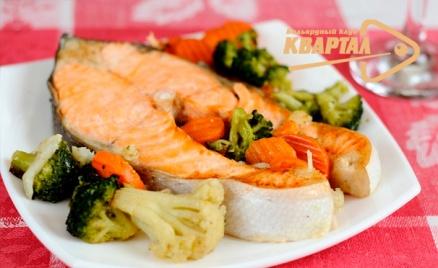 Изысканный ужин в кафе «Квартал»