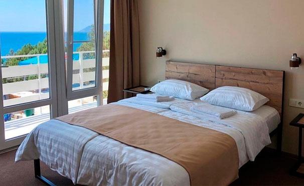 Скидка на От 2 дней проживания в номере «Стандарт» для двоих в отеле Alion в Краснодарском крае. Скидка до 40%